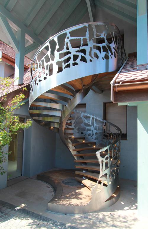 Escalier «Rocaille»