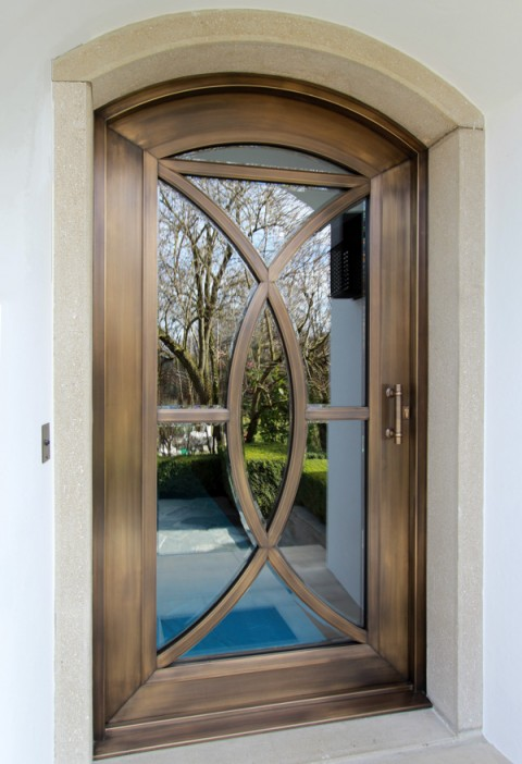 Porte bronze